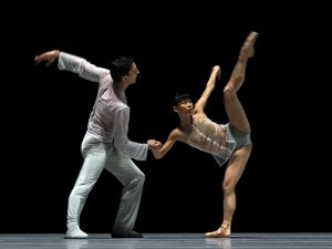 Raphaël Coumes-Marquet, Yumiko Takeshima - The Grey Area - Semperoper Ballett - photo © Costin Radu