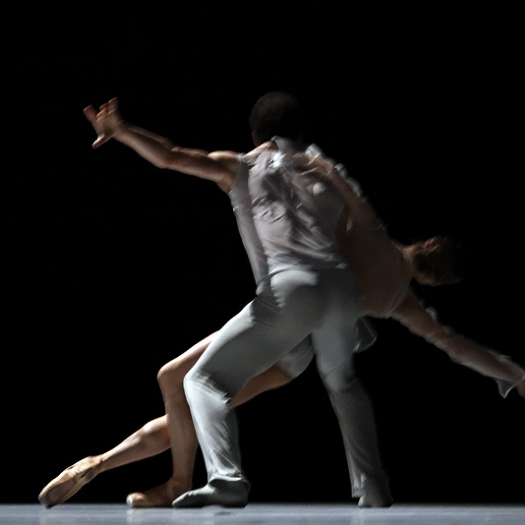 Jiří Bubeníček, Olga Melnikova - The Grey Area - Semperoper Ballett - photo © Costin Radu