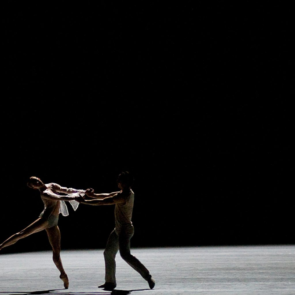 Andrea Parkyn, Fabien Voranger - The Grey Area - Semperoper Ballett - photo © Costin Radu