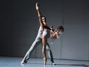 Jiří Bubeníček, Olga Melnikova - The Grey Area - Semperoper Ballett - photo © Costin Radu