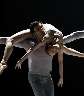 Raphaël Coumes-Marquet, Natalia Sologub - The Grey Area - Semperoper Ballett - photo © Costin Radu