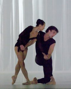 Yumiko Takeshima, Raphaël Coumes-Marquet - Morning Ground - Dutch National Ballet - photo © Angela Sterling
