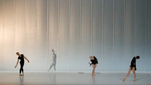 Maximilian Genow, Raphaël Coumes-Marquet, Anna Merkulova, Yumiko Takeshima - Morning Ground - Semperoper Ballett - photo © Costin Radu