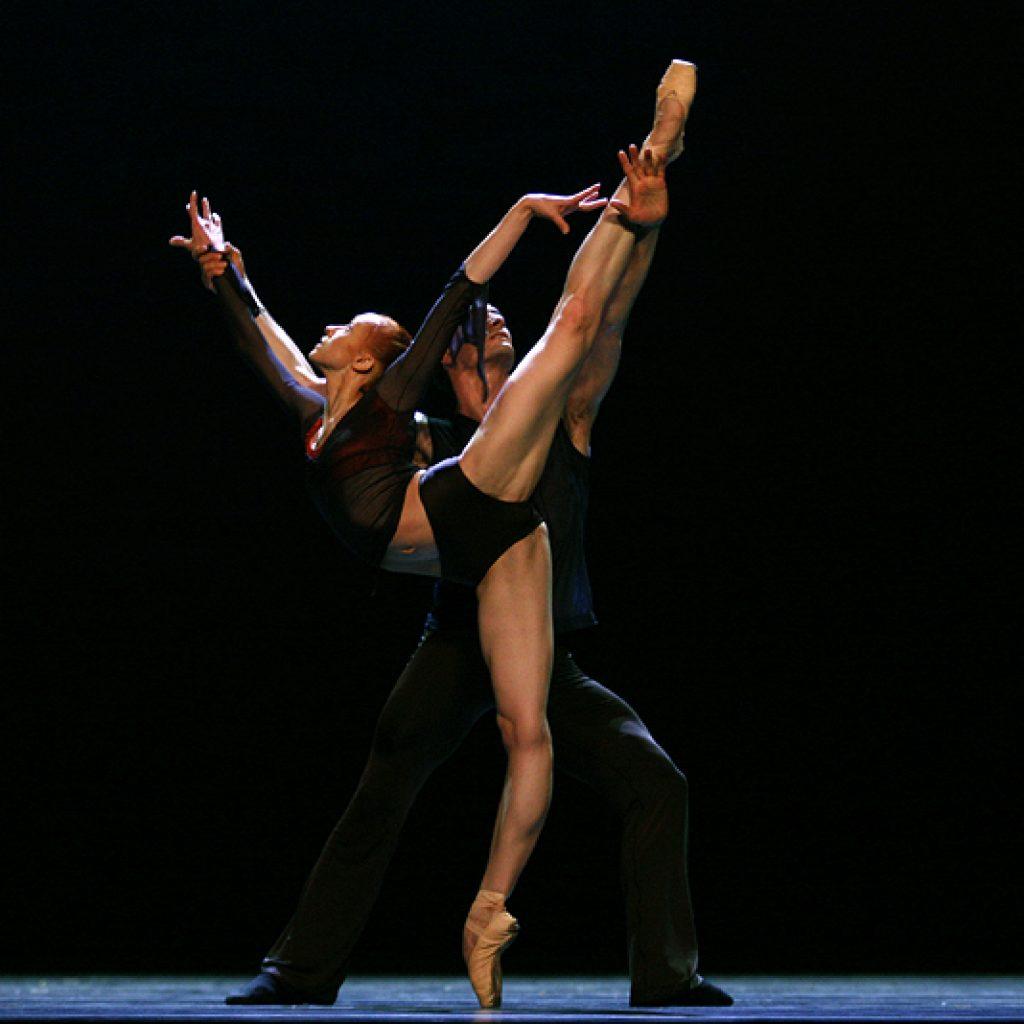 Natalia Sologub, Jiří Bubeníček - Reverence - Semperoper Ballett - photo © Costin Radu