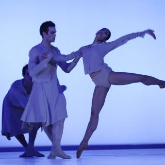 Cedric Ygnace, Marisa Lopez - The Gentle Chapters - Dutch National Ballet - photo © Angela Sterling