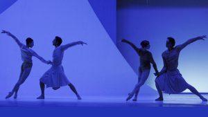 Sarah Fontaine, Steven Etienne, Ruta Jezerskyte, Raphaël Coumes-Marquet - The Gentle Chapters - Dutch National Ballet - photo © Angela Sterling