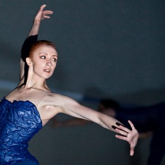 Natalia Sologub - The Disappeared - Semperoper Ballett - photo © Costin Radu
