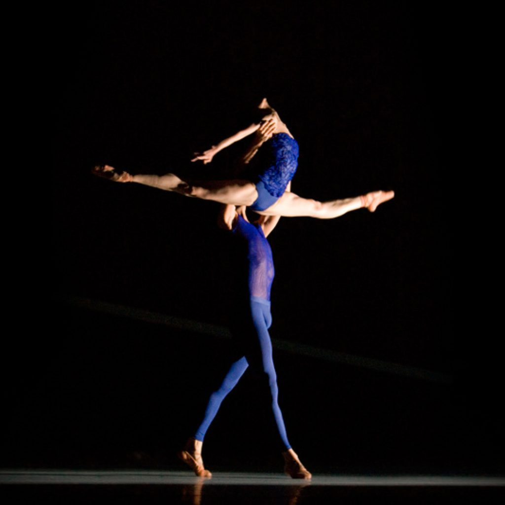 Natalia Sologub, Raphaël Coumes-Marquet - The Disappeared - Semperoper Ballett - photo © Angela Sterling