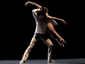 Raphaël Coumes-Marquet, Yumiko Takeshima - On the Nature of Daylight - Semperoper Ballett - photo © Angela Sterling