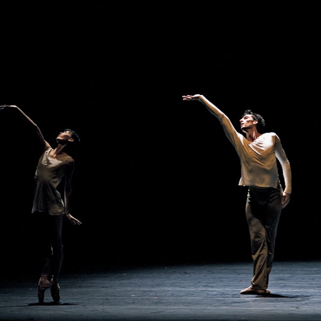 Yumiko Takeshima, Raphaël Coumes-Marquet - On the Nature of Daylight - Semperoper Ballett - photo © Costin Radu