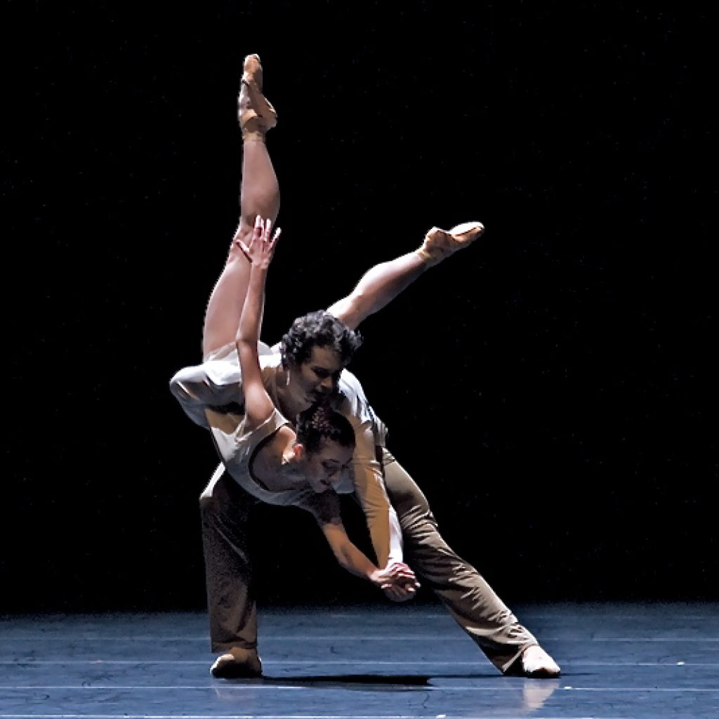 Andrea Parkyn, Istvan Simon - On the Nature of Daylight - Semperoper Ballett - photo © Costin Radu