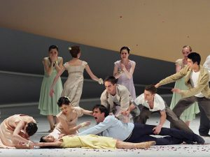 Ensemble - Giselle - Semperoper Ballett - photo © Costin Radu