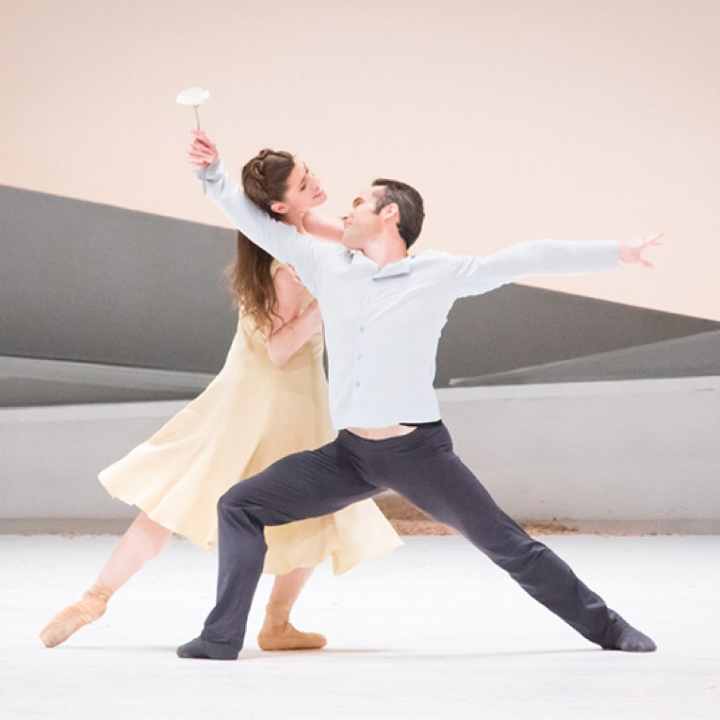 Courtney Richardson, Fabien Voranger - Giselle - Semperoper Ballett - photo © Ian Whalen