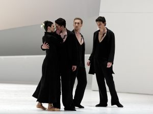 Britt Juleen, Pavel Moskvito, Oleg Klymyuk, George Hill - Giselle - Semperoper Ballett - photo © Costin Radu