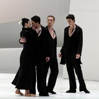 Britt Juleen, Pavel Moskvito, Oleg Klymyuk, George Hill - Giselle - Semperoper Ballett - photo © Costin Radu