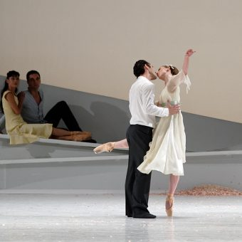 Fabien Voranger, Andrea Parkyn - Giselle - Semperoper Ballett - photo © Costin Radu