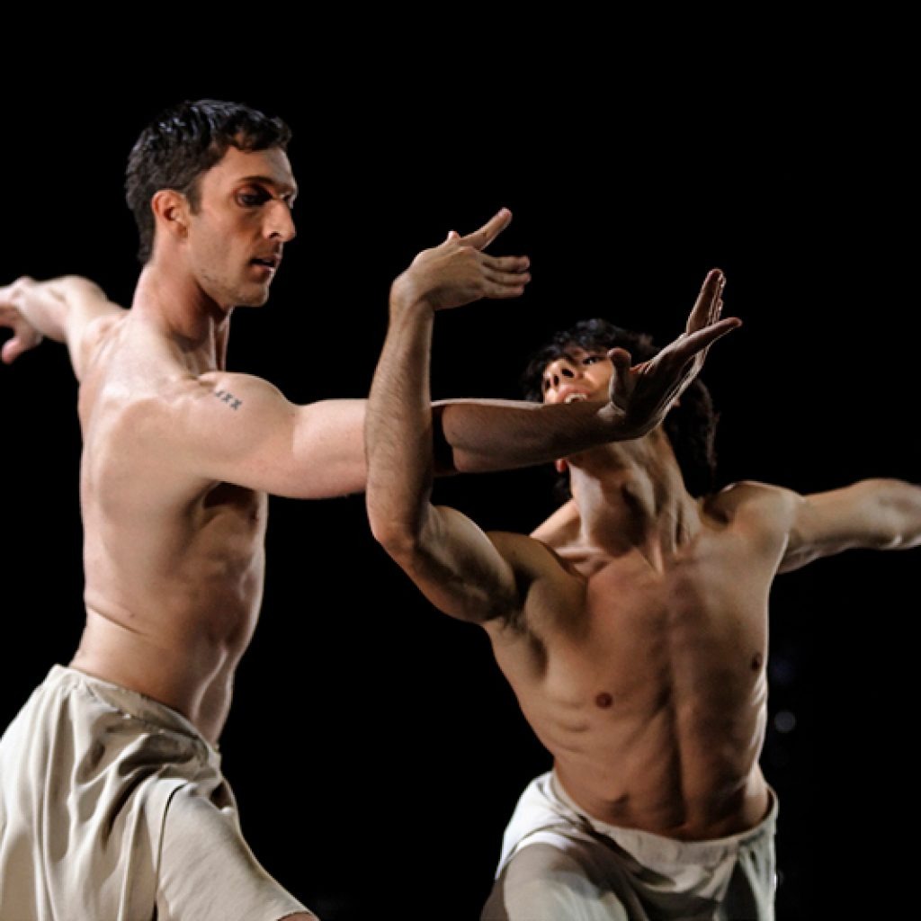Raphaël Coumes-Marquet, Esteban Berlanga - Faun(e) - Semperoper Ballett - photo © Costin Radu