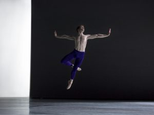 Alexander Peters - The Third Light - Pennsylvania Ballet - photo © Angela Sterling