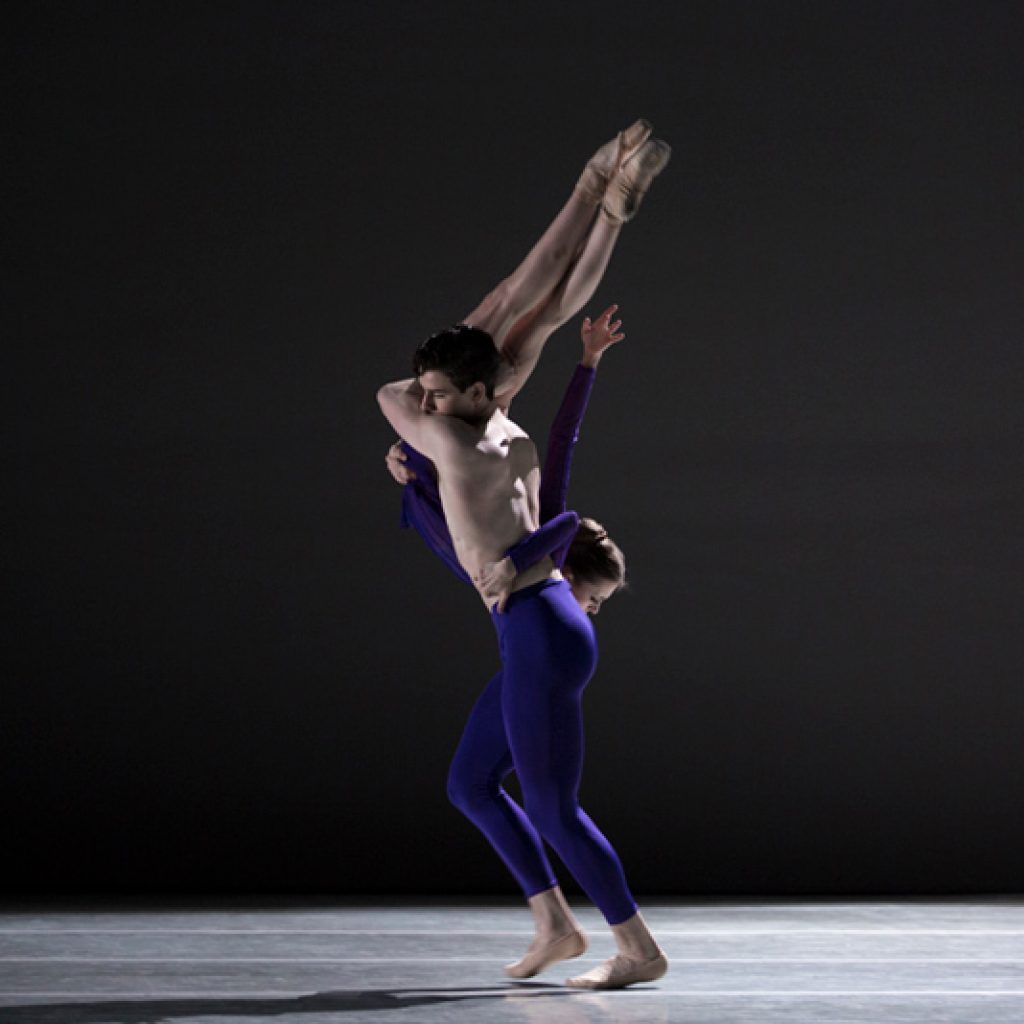 Oksana Maslova, Sterling Baca - The Third Light - Pennsylvania Ballet - photo © Angela Sterling