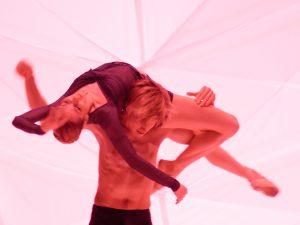 Eugenie Skilnand, Silas Henriksen - dancingmadlybackwards - The Norwegian National Ballet - photo © Costin Radu
