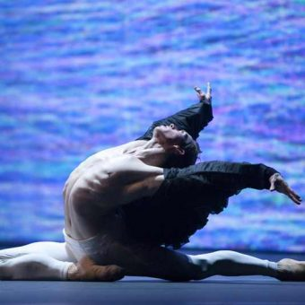 James Stout - timelapse/(Mnemosyne) - Dutch National Ballet - photo © Angela Sterling