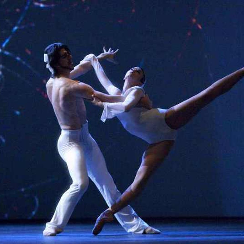 Casey Herd, Michele Jimenez - timelapse/(Mnemosyne) - Dutch National Ballet - photo © Angela Sterling