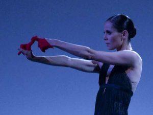 Igone De Jongh - timelapse/(Mnemosyne) - Dutch National Ballet - photo © Angela Sterling