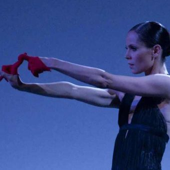 Igone De Jongh - timelapse/(Mnemosyne) - Dutch National Ballet - photo © Angela Sterling