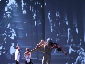 James Stout, Suzanna Kaic, Cédric Ygnace, Igone De Jongh - timelapse/(Mnemosyne) - Dutch National Ballet - photo © Angela Sterling