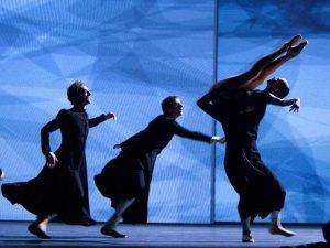 Remi Wörtmeyer, Juan Eymar, Igone De Jongh - timelapse/(Mnemosyne) - Dutch National Ballet - photo © Angela Sterling
