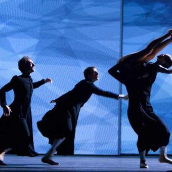 Remi Wörtmeyer, Juan Eymar, Igone De Jongh - timelapse/(Mnemosyne) - Dutch National Ballet - photo © Angela Sterling
