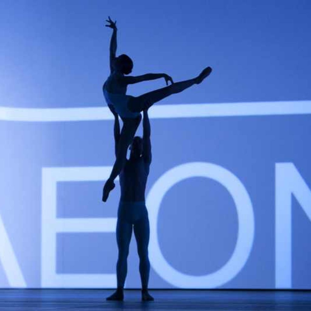 Sasha Mukhamedov, Jan Zerer - timelapse/(Mnemosyne) - Dutch National Ballet - photo © Angela Sterling