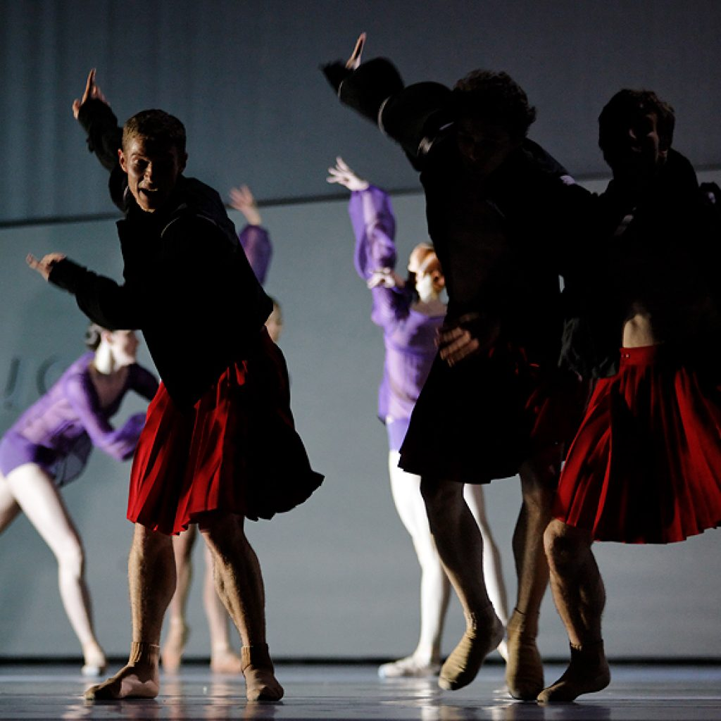 Jan Oratynski, Istvan Simon, Jón Vallejo - The World According to Us - Semperoper Ballett - photo © Costin Radu
