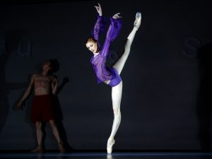 Elena Vostrotina - The World According to Us - Semperoper Ballett - photo © Costin Radu