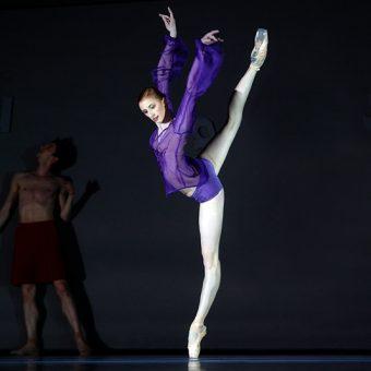 Elena Vostrotina - The World According to Us - Semperoper Ballett - photo © Costin Radu