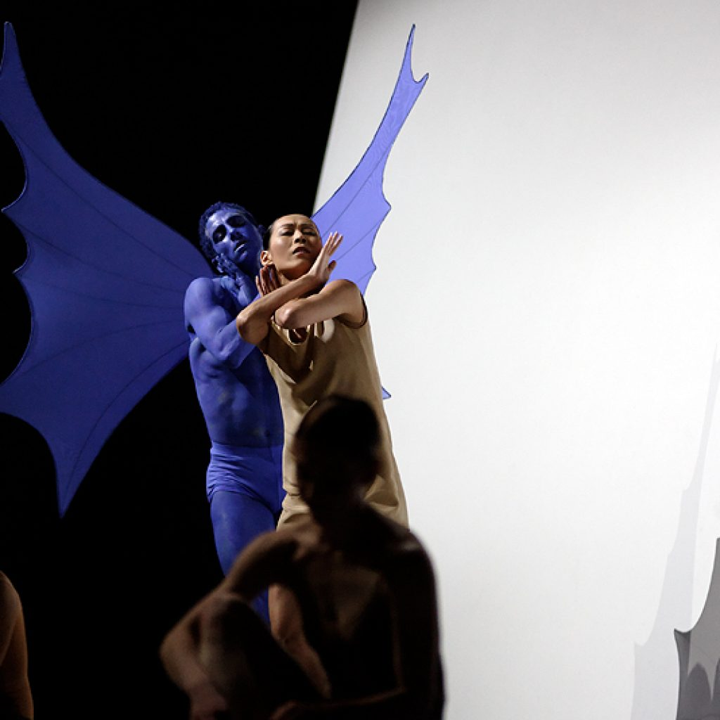 Claudio Cangialosi, Yumiko Takeshima - The World According to Us - Semperoper Ballett - photo © Costin Radu