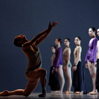Yumiko Takeshima, Ensemble - The World According to Us - Semperoper Ballett - photo © Costin Radu