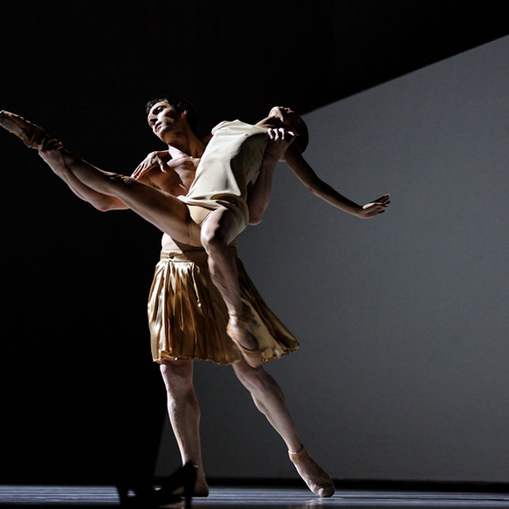 Raphaël Coumes-Marquet, Yumiko Takeshima - The World According to Us - Semperoper Ballett - photo © Costin Radu
