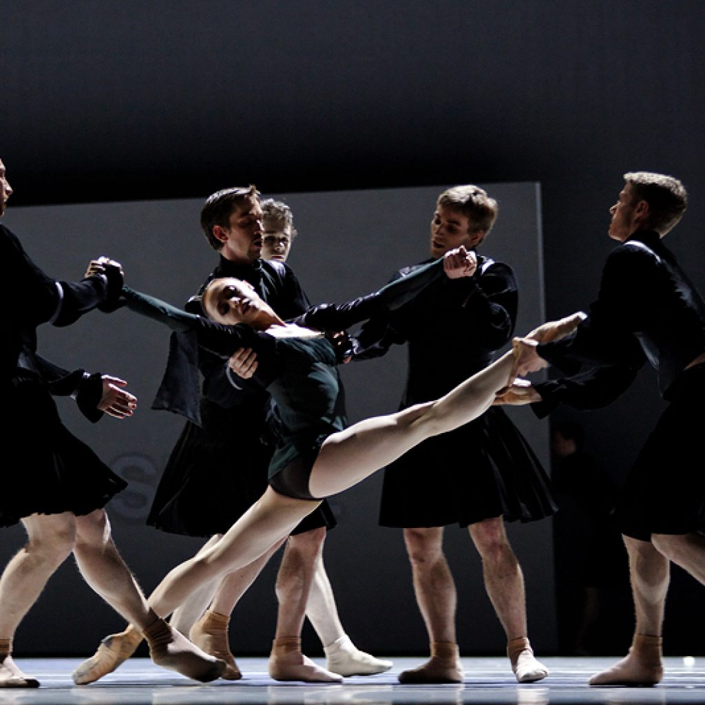 Ensemble - The World According to Us - Semperoper Ballett - photo © Costin Radu