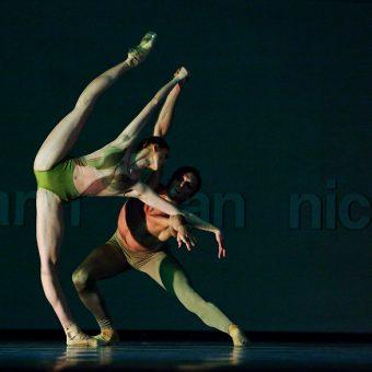 Elena Vostrotina, Raphaël Coumes-Marquet - The World According to Us - Semperoper Ballett - photo © Costin Radu