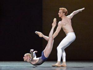Sarah Lamb, Steven McRae - The Human Seasons - The Royal Ballet - photo © Dave Morgan