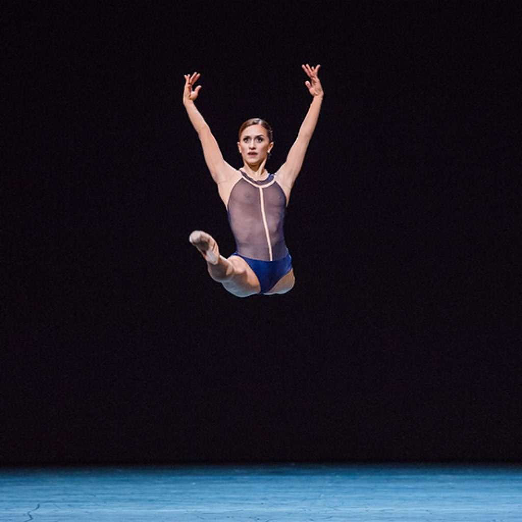 Marianela Nuñez - The Human Seasons - The Royal Ballet - photo © Bill Cooper