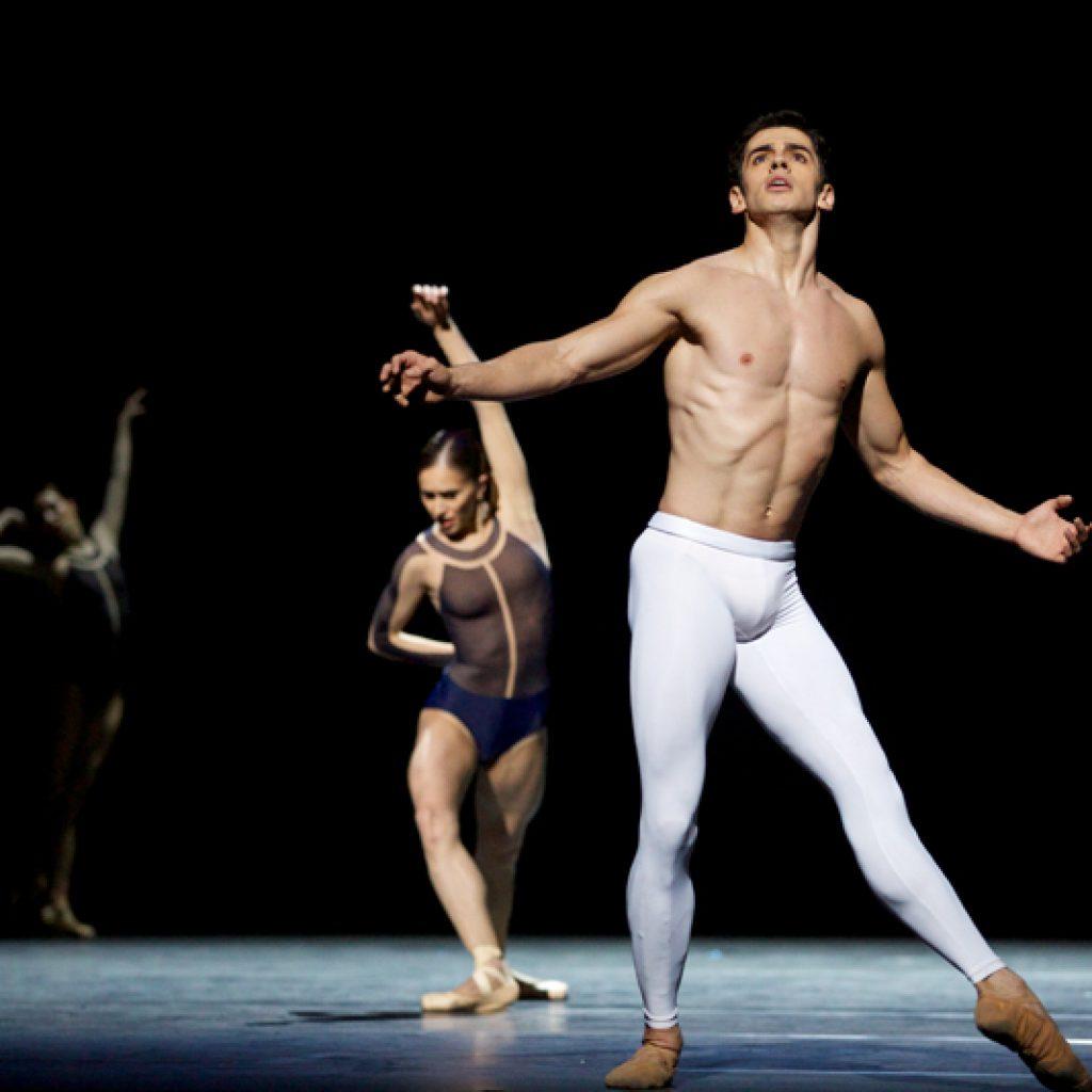 Marianela Nuñez, Federico Bonelli - The Human Seasons - The Royal Ballet - photo © Alice Pennefather