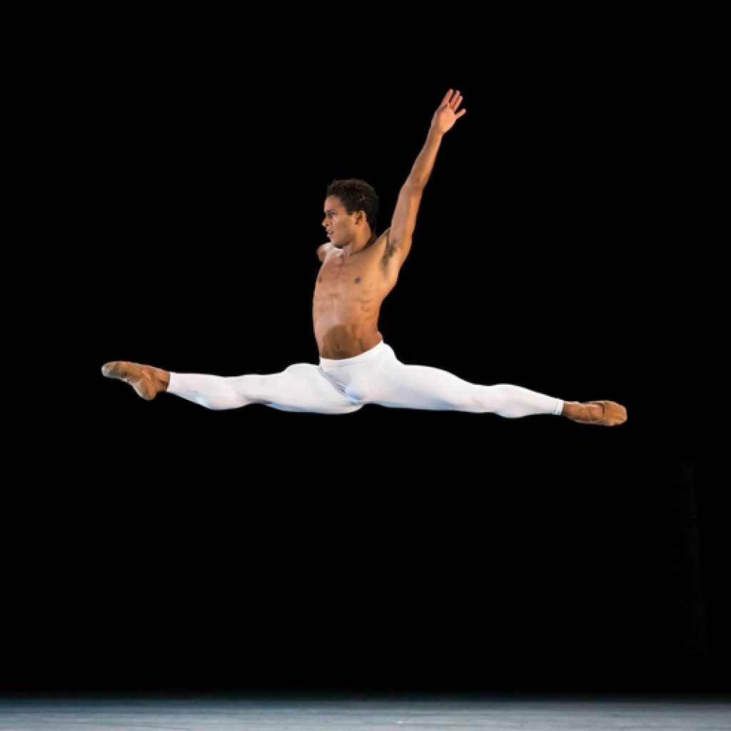 Marcelino Sambé - The Human Seasons - The Royal Ballet - photo © Emma Kauldhar