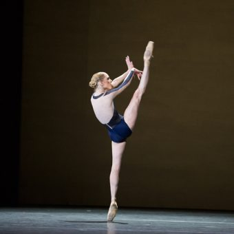Sarah Lamb - The Human Seasons - The Royal Ballet - photo © Alice Pennefather