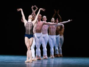 Melissa Hamilton, Steven McRae, Dawid Trzensimiech, Edward Watson, Johannes Stepanek, Eric Underwood, Federico Bonelli - The Human Seasons - The Royal Ballet - photo © Tristram Kenton
