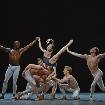 Eric Underwood, Melissa Hamilton, Edward Watson, Dawid Trzensimiech, Steven McRae, Johannes Stepanek - The Human Seasons - The Royal Ballet - photo © Dave Morgan