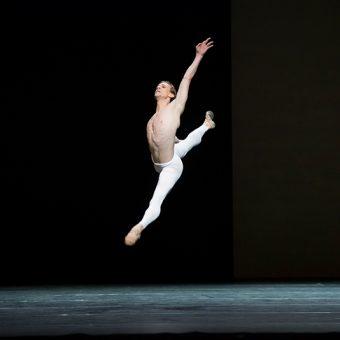 Edward Watson - The Human Seasons - The Royal Ballet - photo © Tristram Kenton
