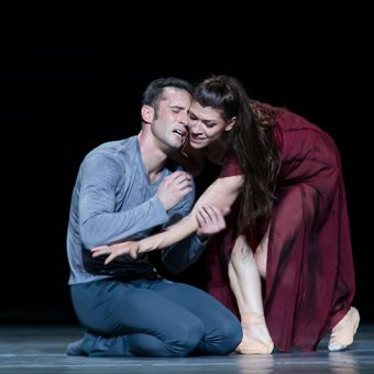 Fabien Voranger, Courtney Richardson - Tristan + Isolde - Semperoper Ballett - photo © Ian Whalen
