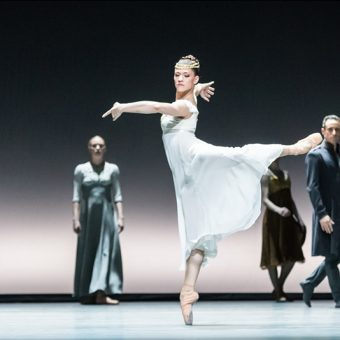 Courtney Richardson - Tristan + Isolde - Semperoper Ballett - photo © Ian Whalen